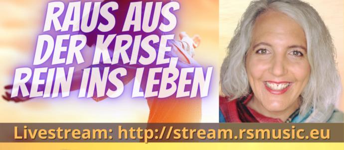 Show Raus aus der Krise, rein ins Leben mit Deborah Bögli und Runar Schlag auf RS MUSIC. Immer donnertags um 19:30 Uhr