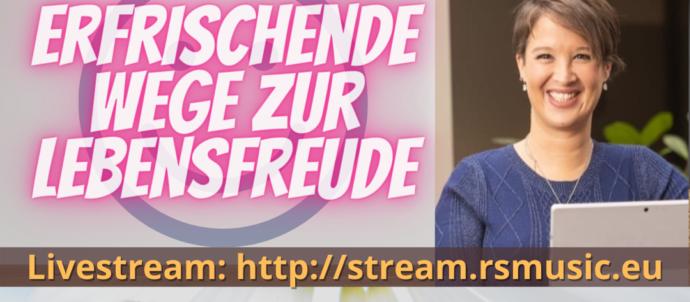 Show Erfrischende Wege zur Lebensfreude mit Maya Mangold und Runar Schlag auf RS MUSIC. Immer dienstags um 19:30 Uhr