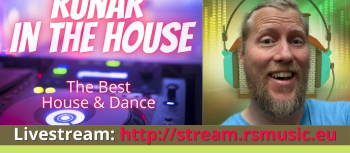 Show Runar in the House - The Best House & Dance mit Runar Schlag